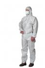 Secutex Pro / Z2, vel. XXL, jednorázový oblek antistatický, bílý