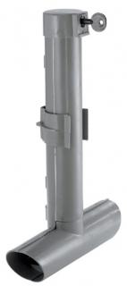 Deratizační stanička typ T GRIGIO šedá