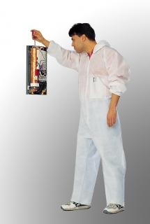 Monotex - jednorázový oblek XXL bílý