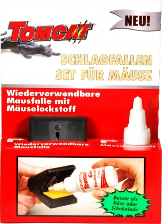 TOMCAT na myši set (s návnadou)