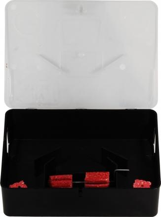 Deratizační stanička PRE-BOX na potkany - průhledná