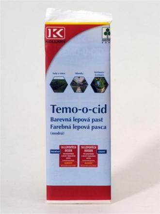 TEMO-O-CID modrá 10 kusů 40x25