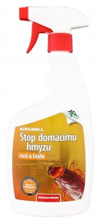 Insekticid KARAKILL - Stop domácímu hmyzu - rusi a švábi