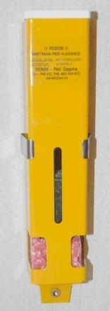 Vertical - DEREK color (bílá/žlutá)
