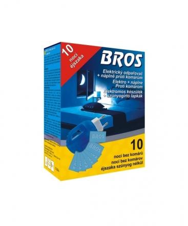Bros - elektrický odpařovač proti komárům a jinému hmyzu + 10