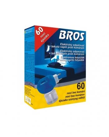 Bros - el. odpařovač proti komárům s tekutou náplní