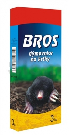 Bros - dýmovnice proti krtkům 3 ks