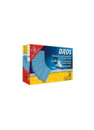 Bros - polštářky proti komárům - náhradní náplň