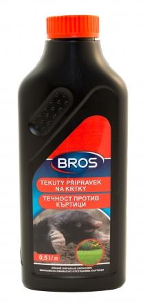 Bros - tekutý prostředek na odpuzování krtků 500 ml
