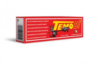 TEMOBI - Netoxický lep k odchytávání škodlivého a obtížného hmyzu