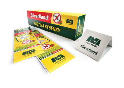 Past na rybenky Silverband 215x60 mm