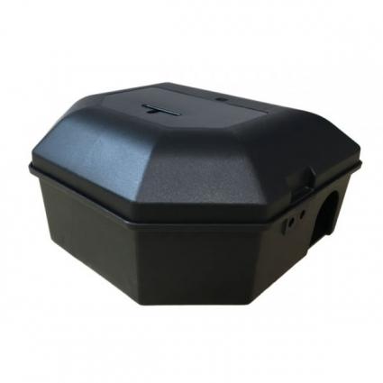Deratizační stanička Rotech® Snap Box černá