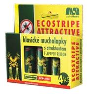 Ecostripe attractive - klasické mucholapky 4 ks